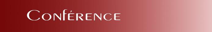 Catégorie Conférences