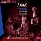Les Cahiers des Amis du Festival - juin 2008