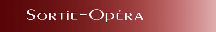 Catégorie Sorties Opéra