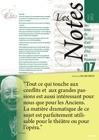 Les Notes - janvier 2012