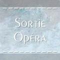 Sorties opéra