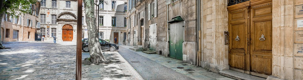 Amis Festival Aix (Porte entrée siège social) ©Paul Meissonnier