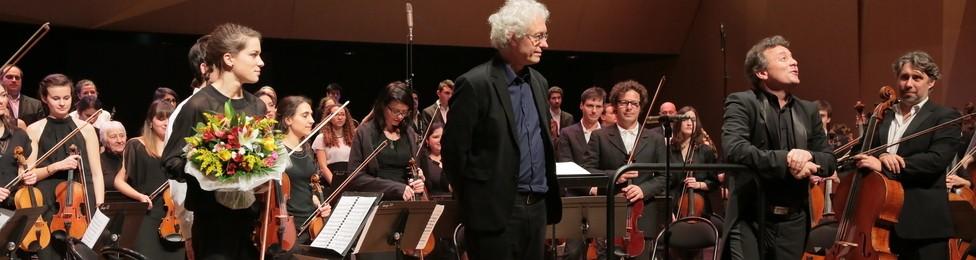 Conservatoire (Inauguration de l orgue Bernard Foccroulle et Jean-Philippe Dambreville ©Paul Meissonnier